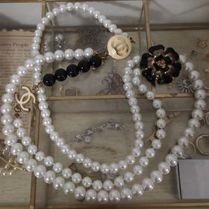 """Chanel"" pearl necklace"